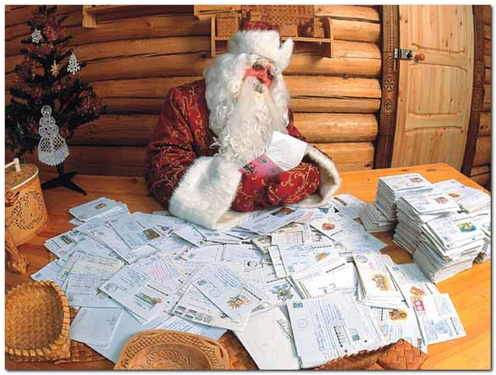 Дед Мороз ветеран сказочного труда