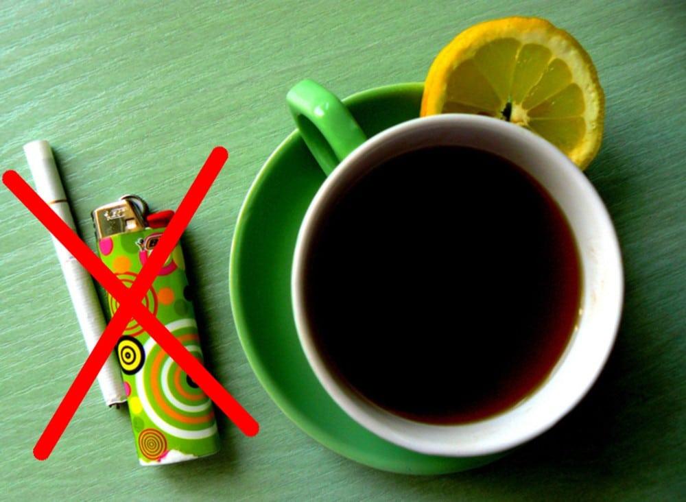 Чай вместо сигареты