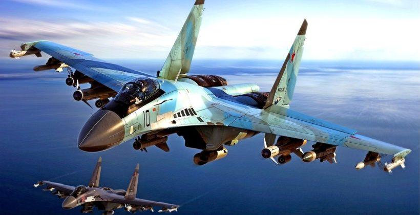 Истребитель СУ-35 — Лицо боевой авиации России