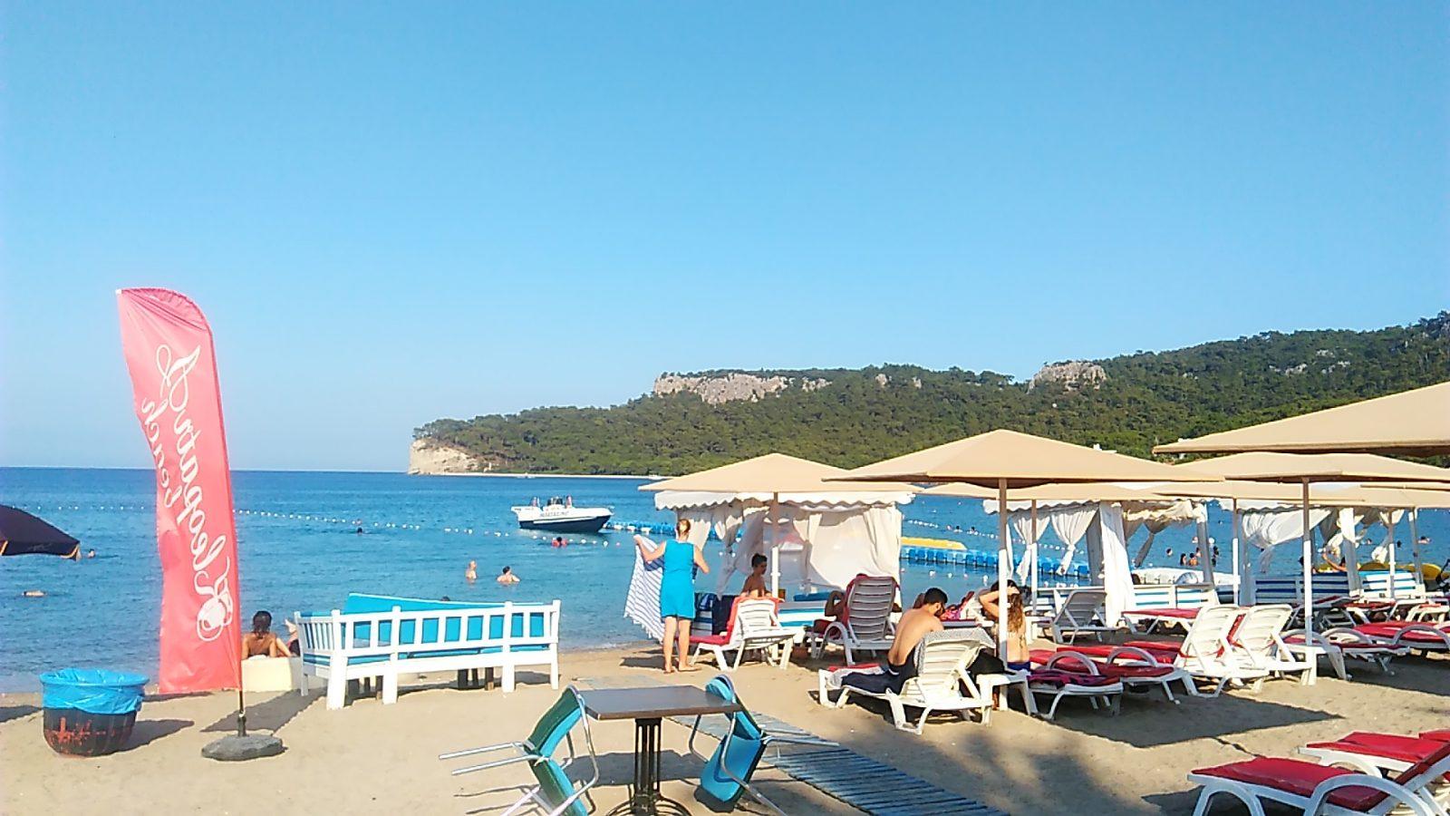 Пляж Клеопатры - г. Аланья