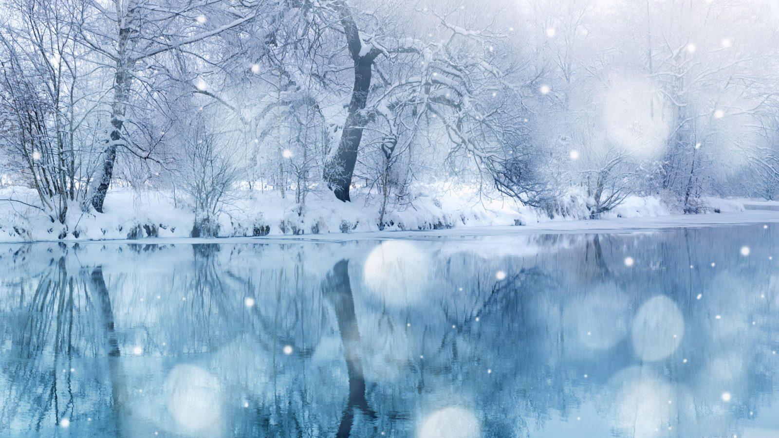 Снежинки умеют петь