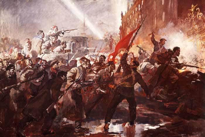 Октябрьская революция 7 ноября 1917 года