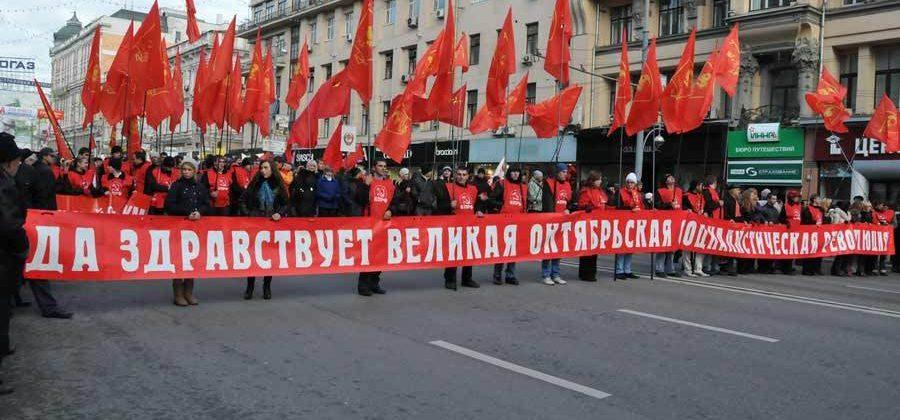7 НОЯБРЯ праздник в СССР — 100 лет Октябрьской Революции!
