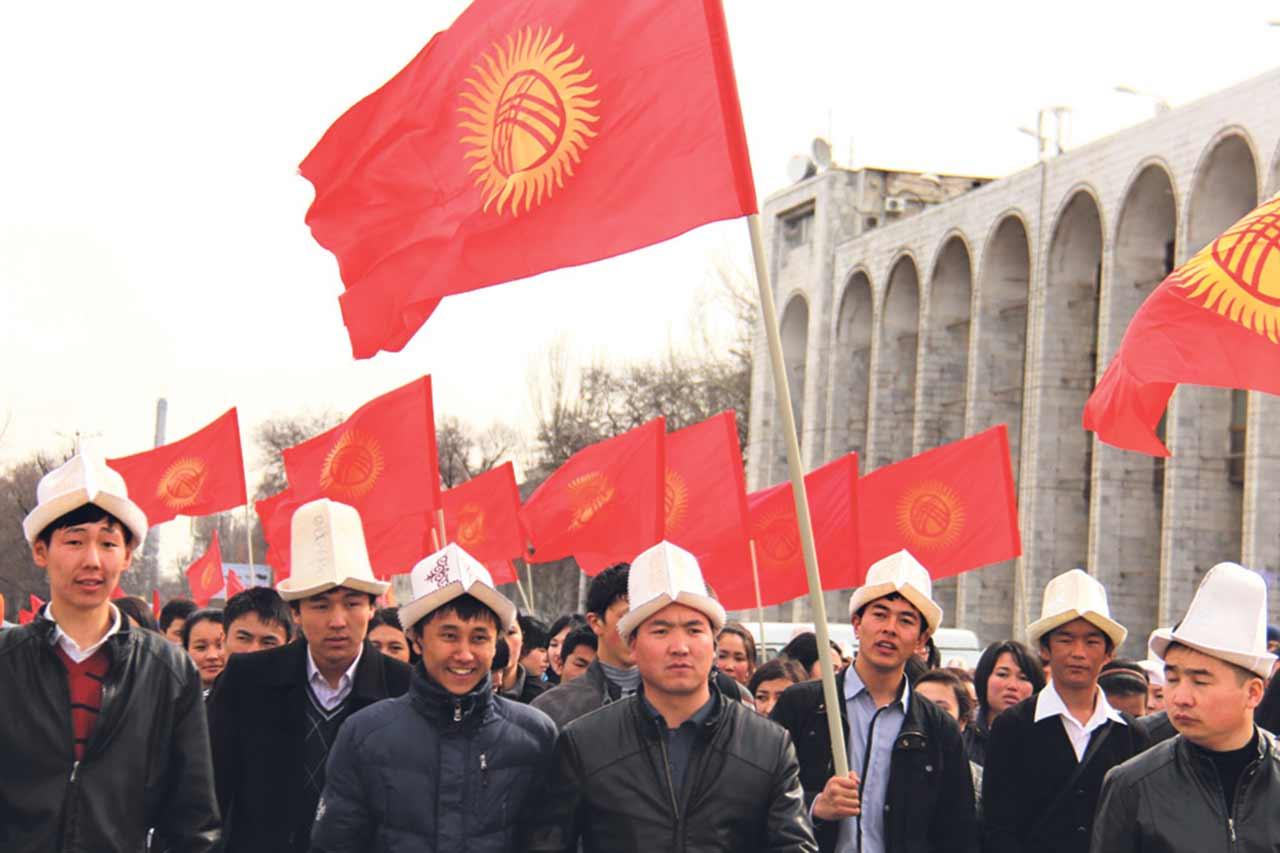 День Октябрьской революции в Киргизии