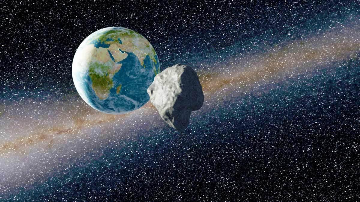 Приближение астероида Апофис в апреле 2029 года