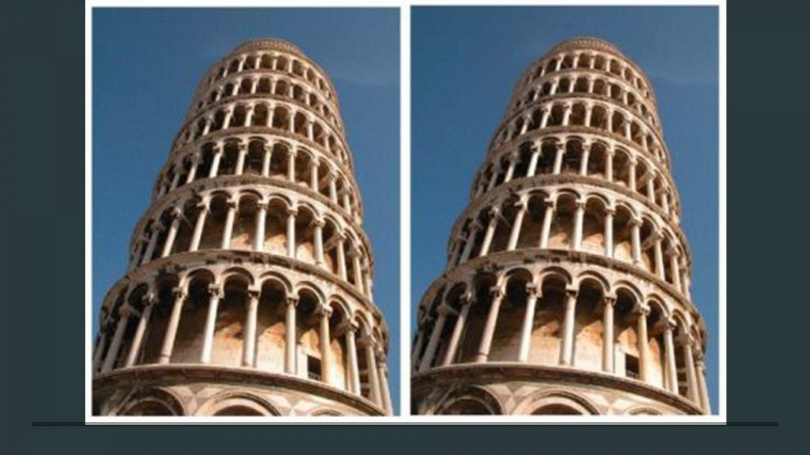 Чем отличаются эти 2 фотографии
