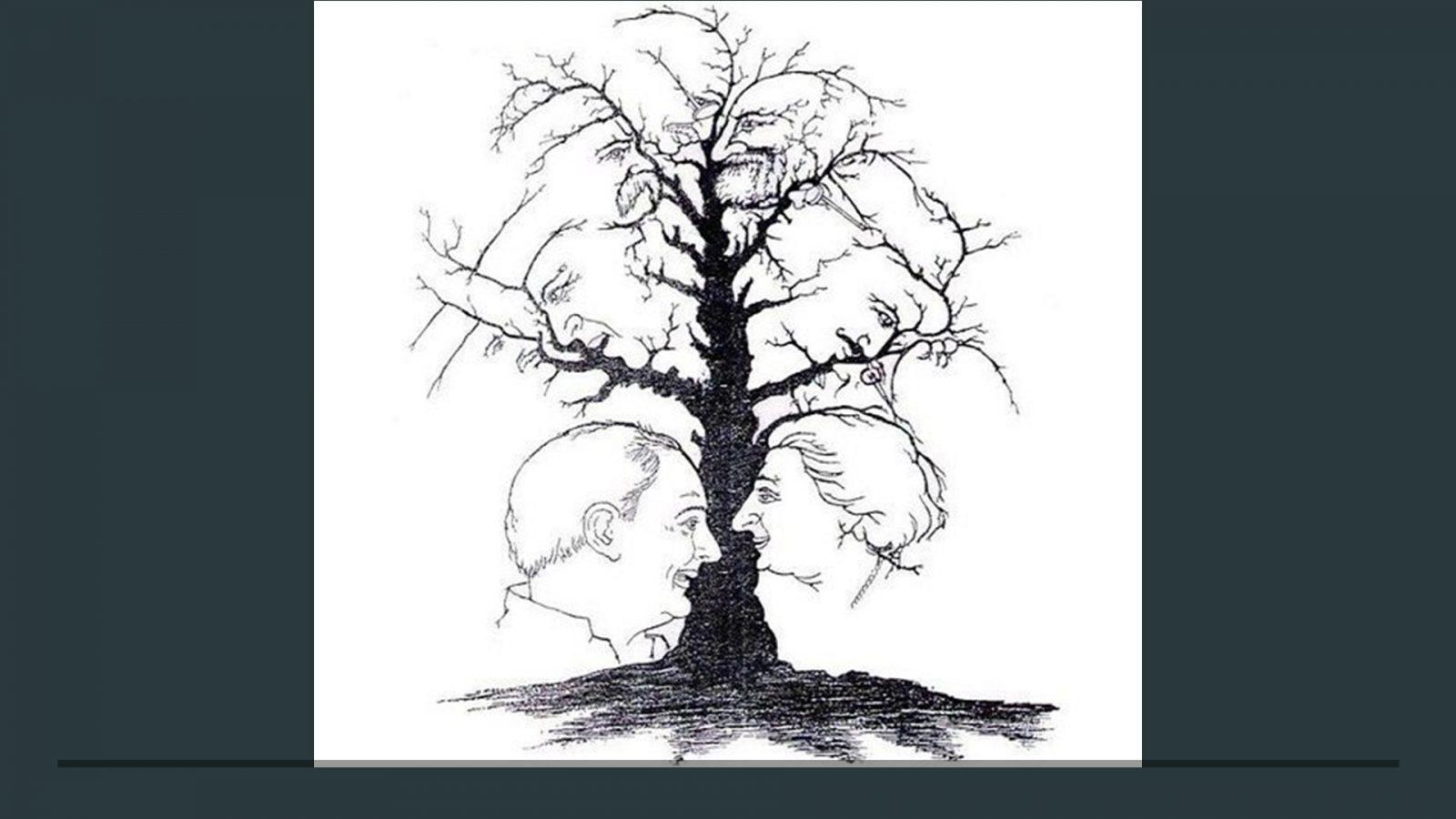 Сколько лиц Вы видите на этой картинке