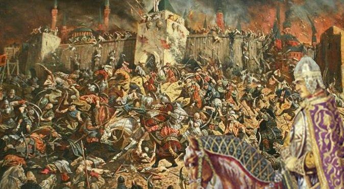 Фото картины - поход на Казань (16 июня 1552 год)