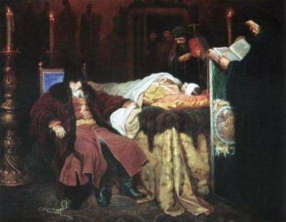 Смерть Бориса Годунова