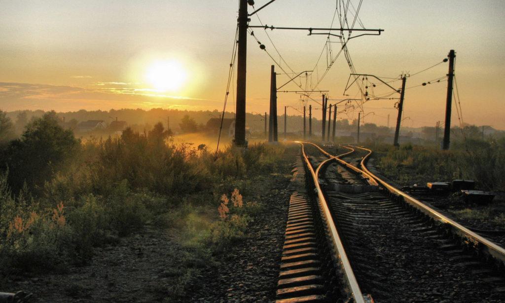 Поезд и дорога