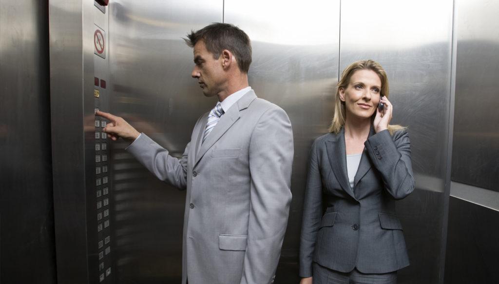 Лифт и люди