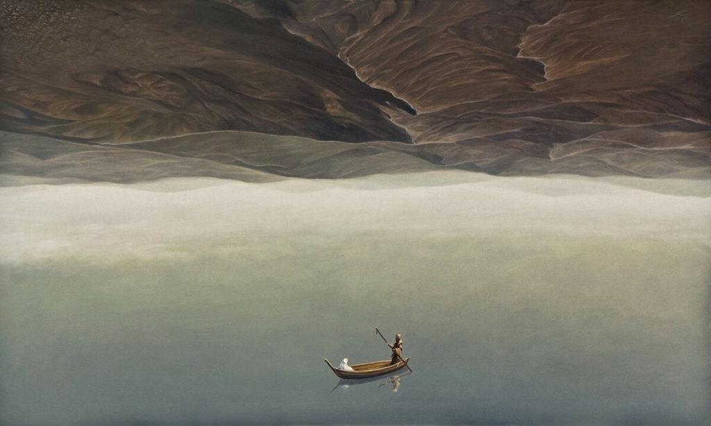 Лодка и люди