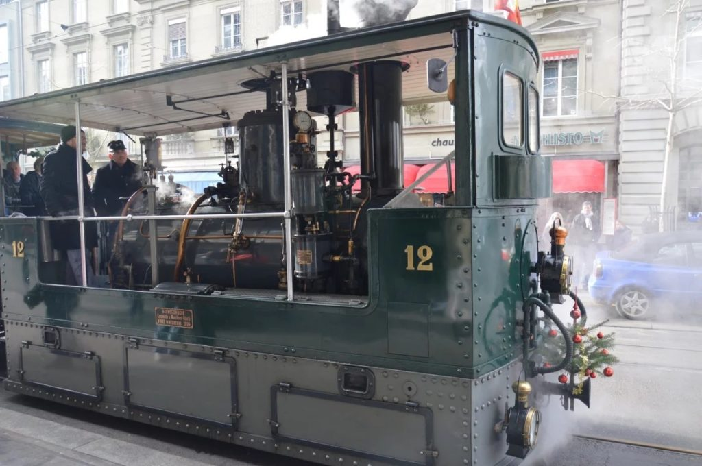 паровой трамвай