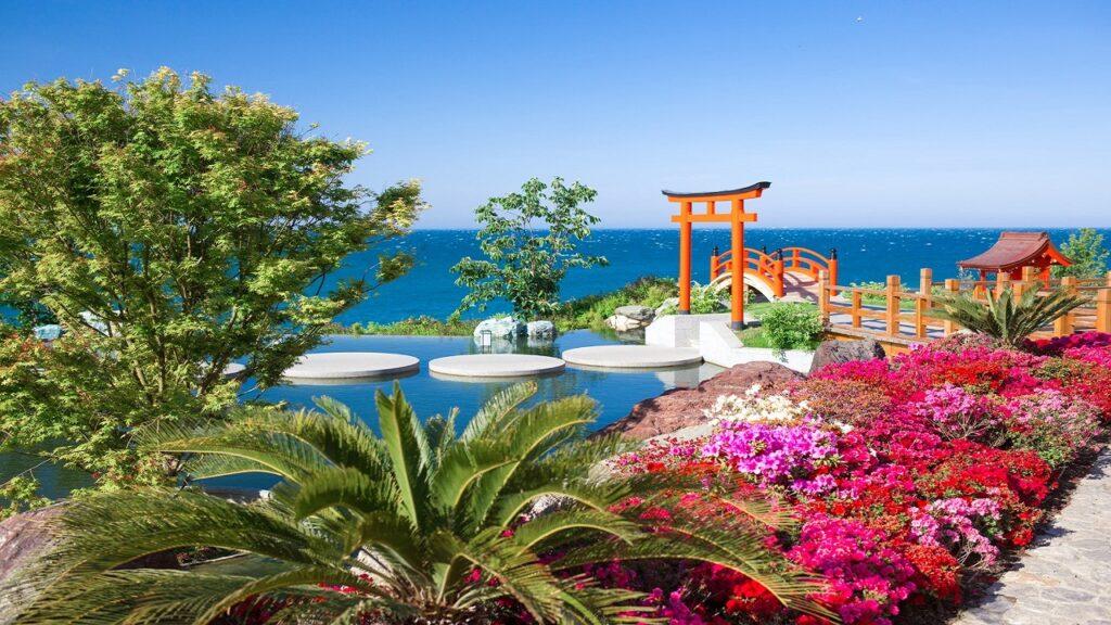 10. Японский сад «Шесть чувств»
